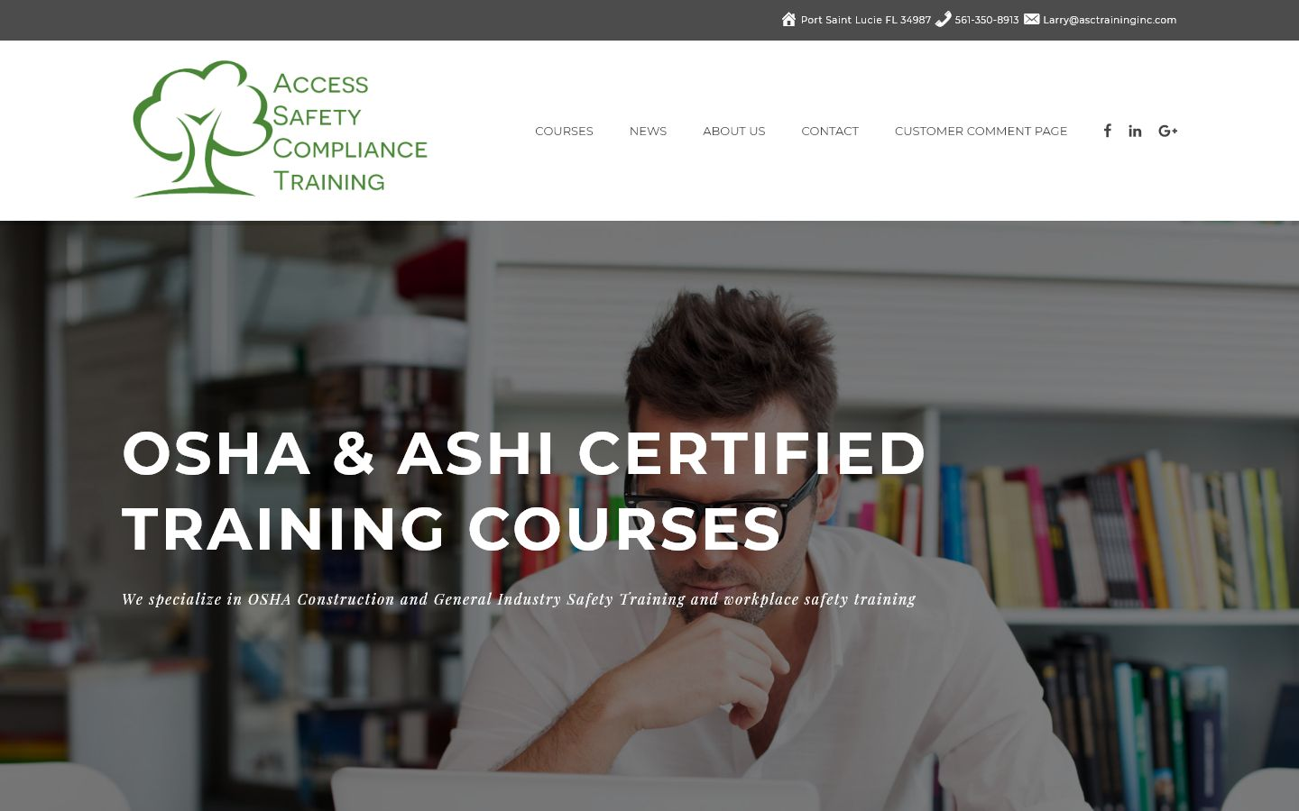 Access safety Compliance Training