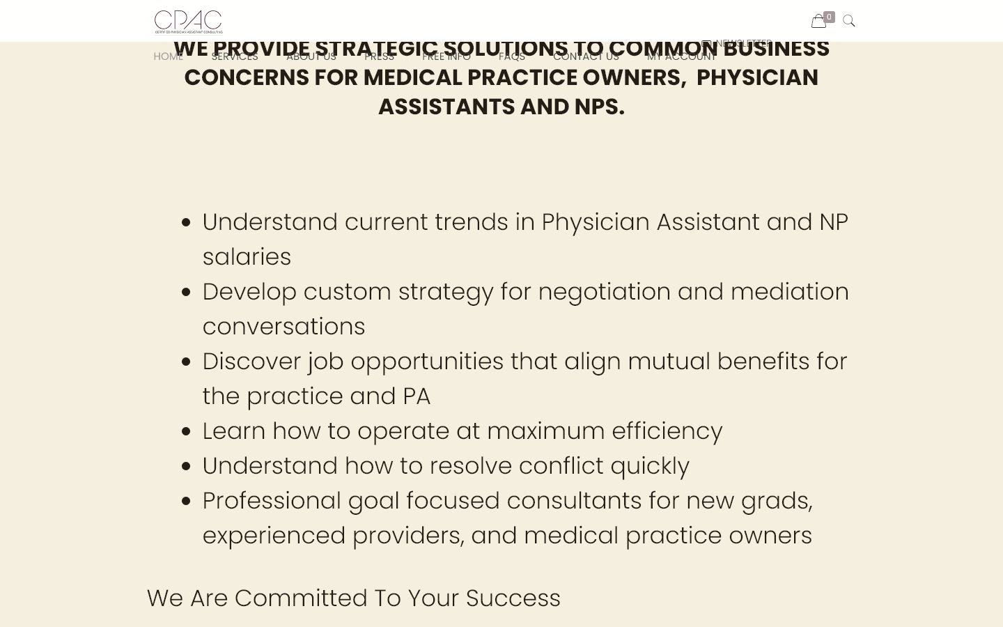 Certified Physician Assistant Consulting