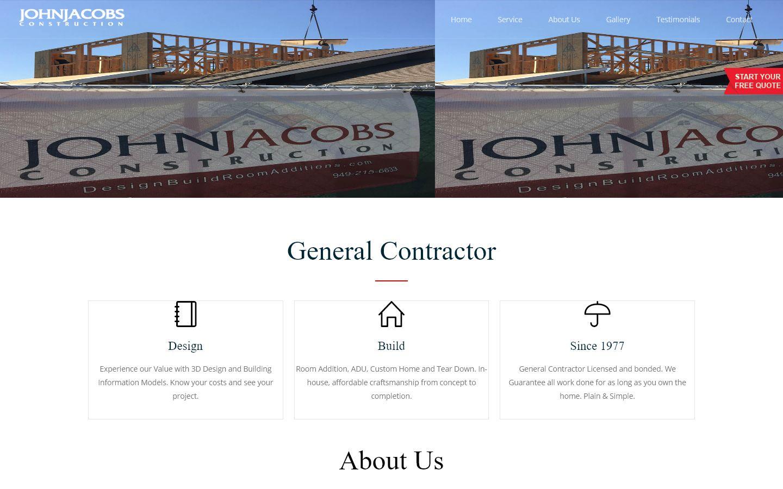 John Jacobs Construction