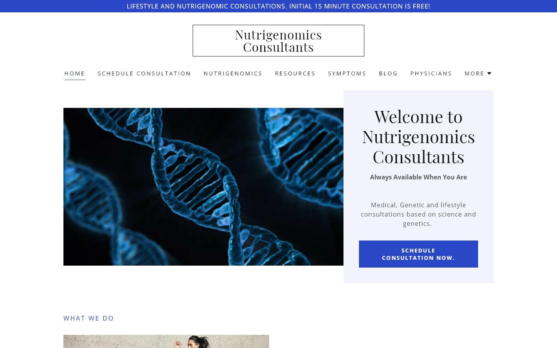 Nutrigenomics Consultants