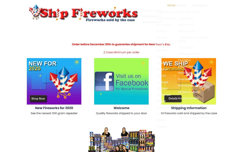 Ship Fireworks