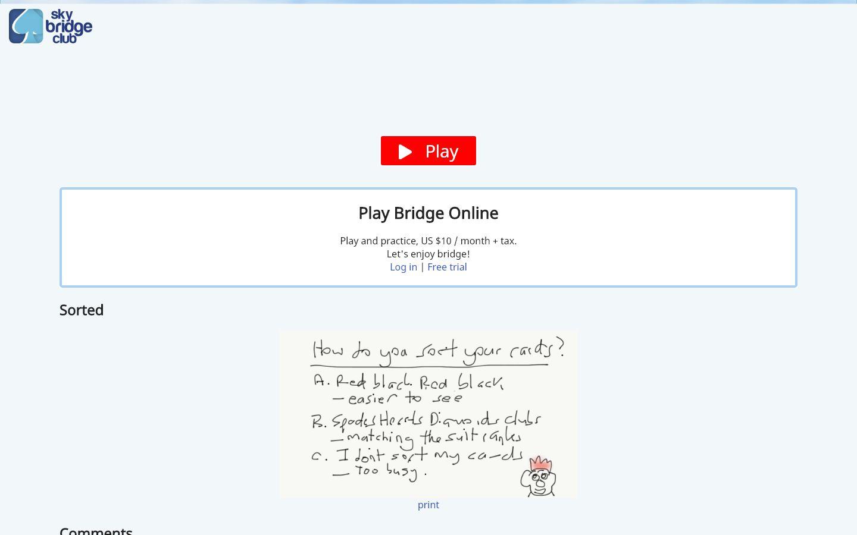 Sky Bridge Club