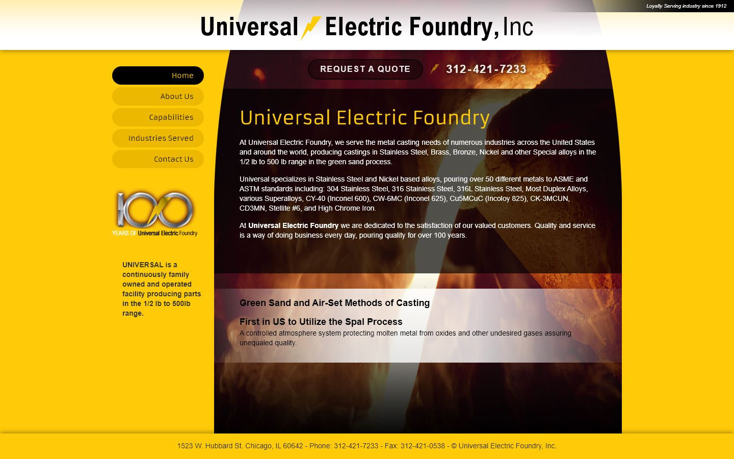 Universal Electric Foundry
